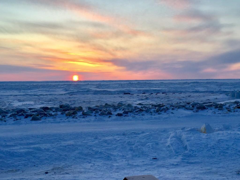 Blue Sunset by jetr