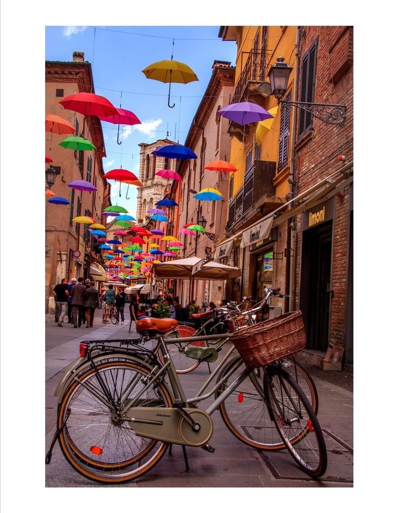 Charming town of Ferrara,Italy  by wendytel