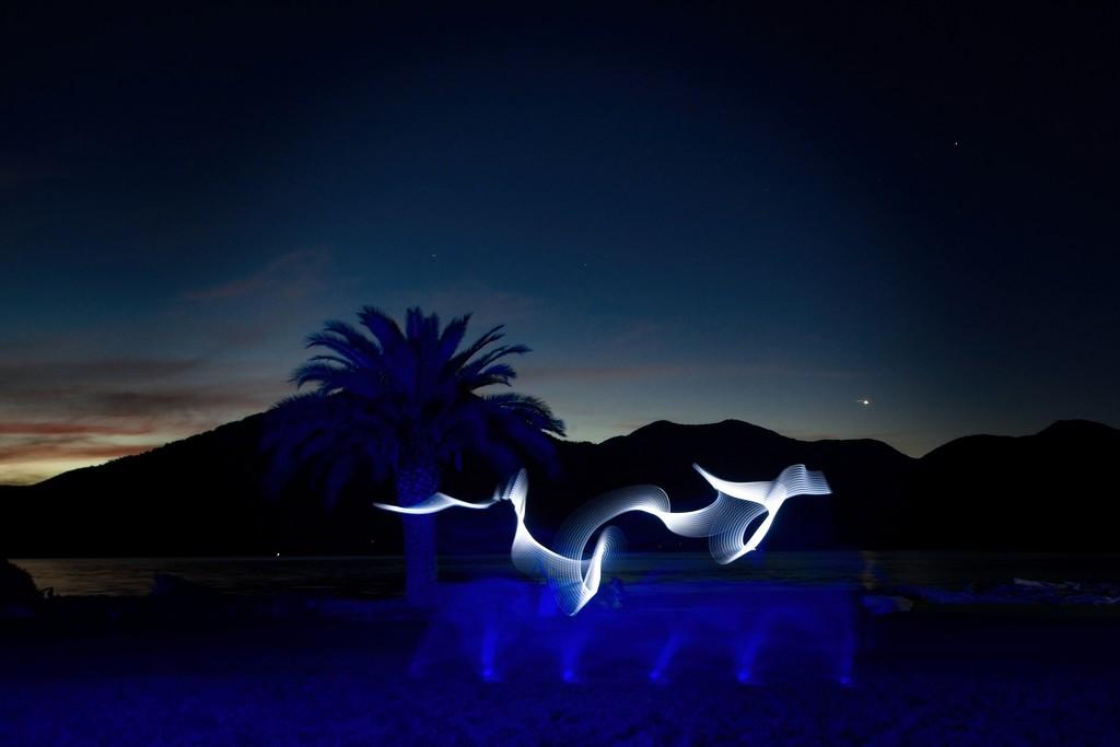 Blue hour with a twist by kiwinanna