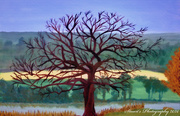 9th Apr 2020 - Tree (painting)