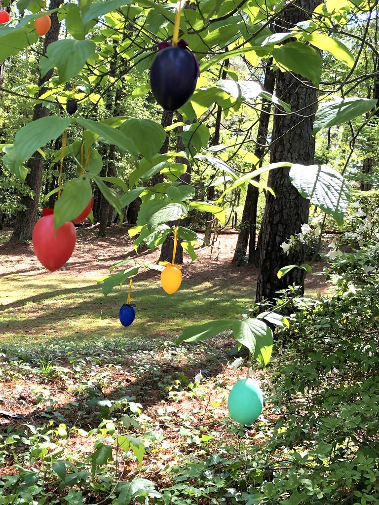 Easter Egg Tree by homeschoolmom