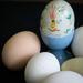 Easter = eggs
