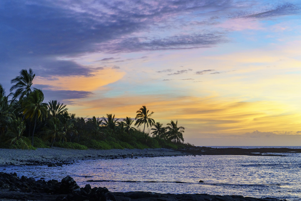 Tropical Sunset by jgpittenger