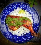 8th Apr 2020 - Pollo a la Brasa with Peruvian green sauce