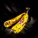 Light Painted Bananas