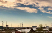 14th Apr 2020 - Overlooking Newport docks