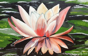 15th Apr 2020 - Water Lily (painting)