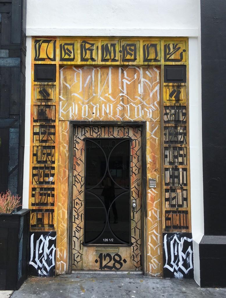 Calligraphy Doorway  by handmade