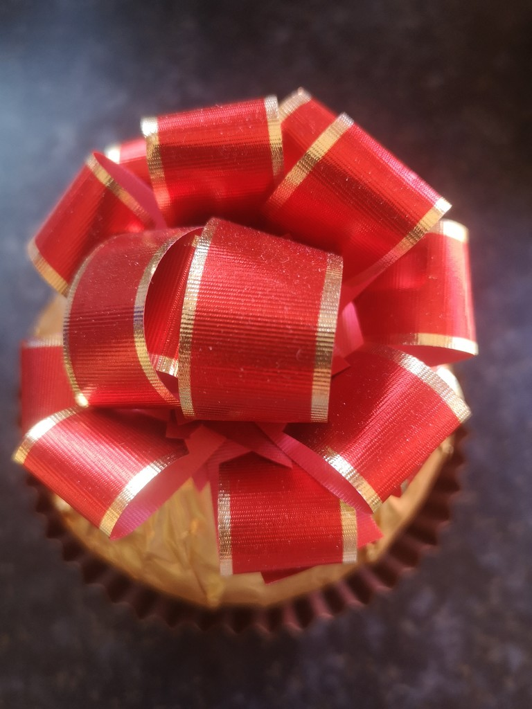 Ferrero Rocher Ribbon ~ red  by plainjaneandnononsense
