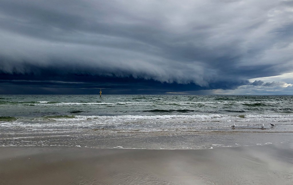 Today's storm front by pictureme