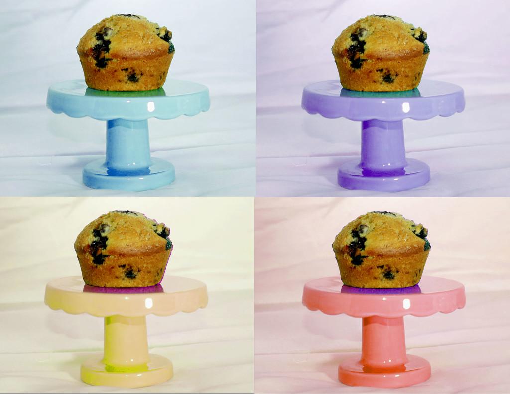 Color Wheel of Sourdough Muffins by lynbonn