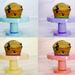 Color Wheel of Sourdough Muffins