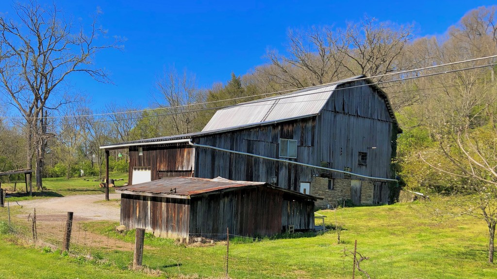 Barns on Bike Rides #5 by andewein