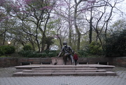 25th Apr 2020 - Hand Christian Anderson, in Central Park
