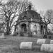 Mausoleum in B&W by mittens