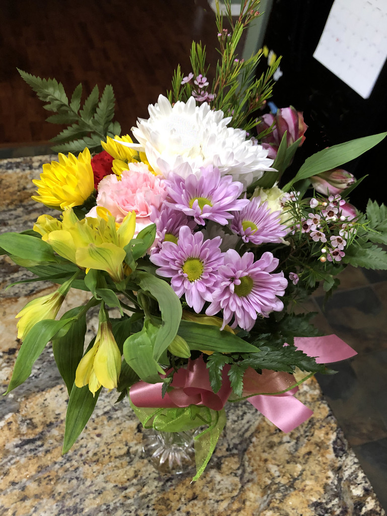 Flowers from my MOMS by homeschoolmom