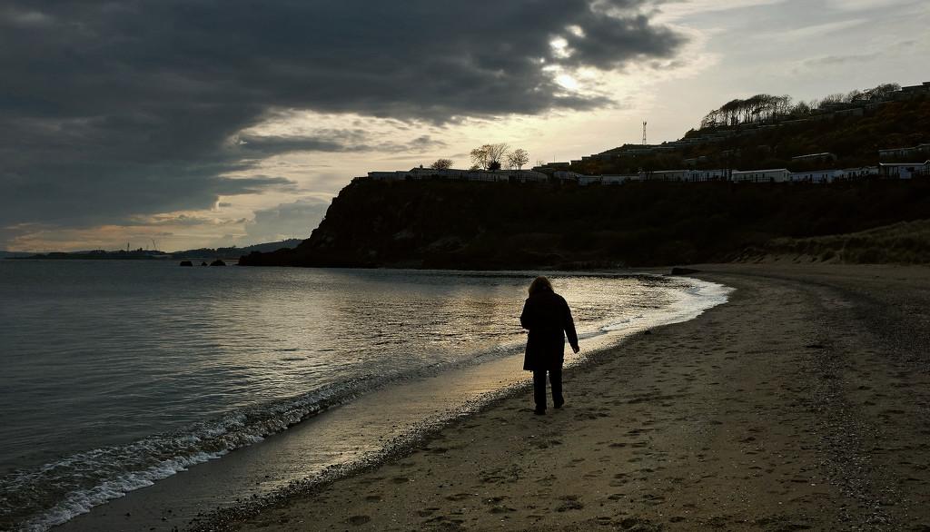 Beachcombing by rexcomu