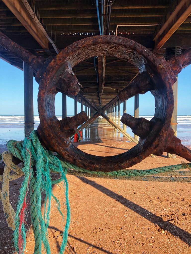Under the Pier by cookingkaren