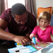 Coloring with Uncle Neal