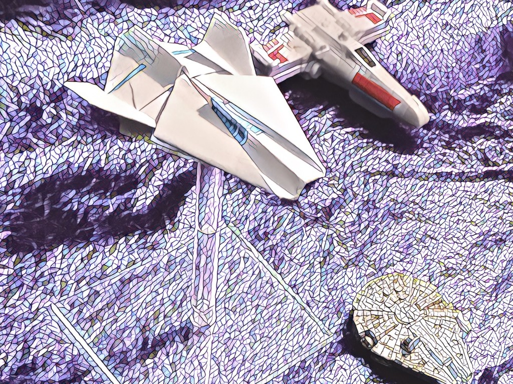 A Wing Fighter: Star Wars Origami by jnadonza