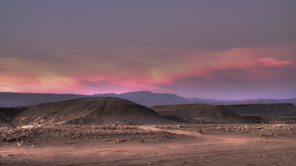 Sunset in Valley of the Moon by taffy