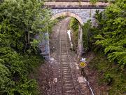 5th May 2020 - Train path