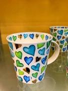 9th May 2020 - Green hearts and blue ...