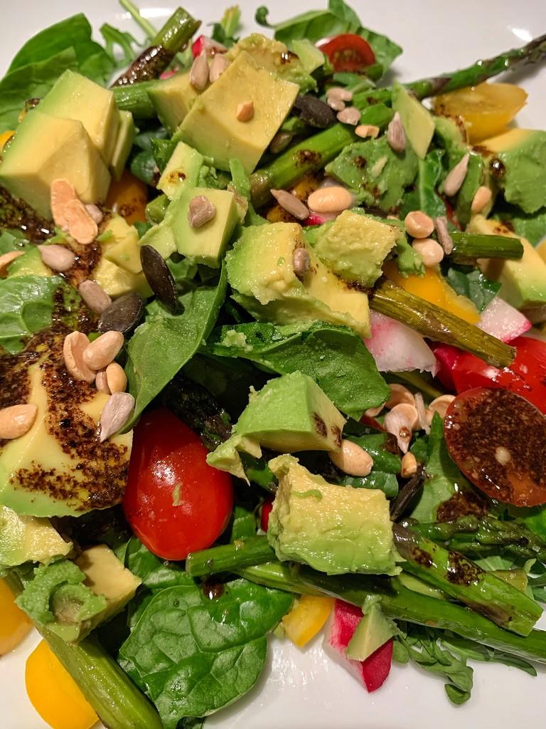 Botanical salad.  by cocobella