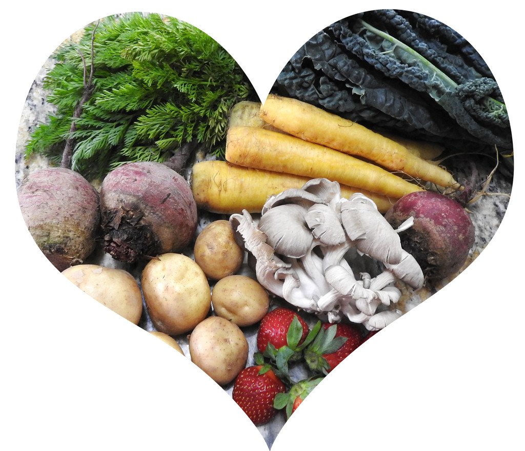 Fruits & Veggies - good for your heart! by homeschoolmom