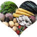 Fruits & Veggies - good for your heart!