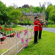 9th May 2020 - Pleasley Vale Cenotaph VE Day 75 Anniversary
