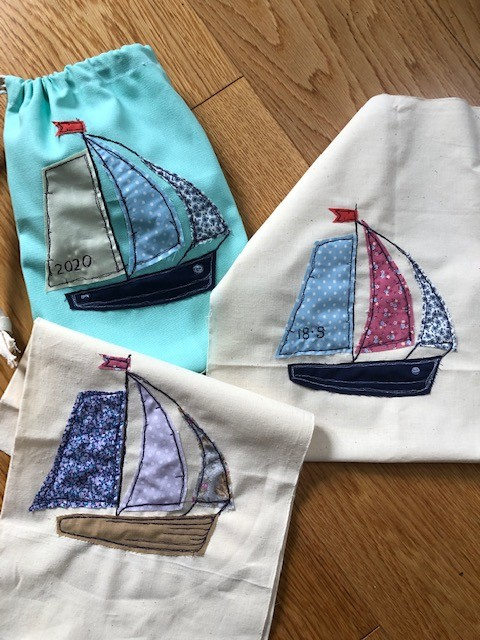 A fleet of little boaty bags! by nicolaeastwood
