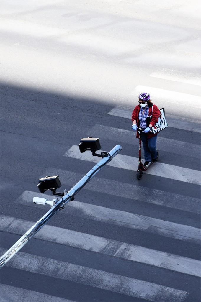 Motorized pedestrian ... :-) by kork