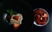 11th May 2020 - Strawberries, cream and milk, and cake