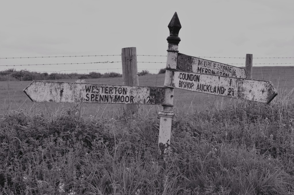 Rusty old sign by gemmabrowne