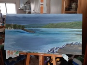 13th May 2020 - 'Harbour Wall II' - Finished!