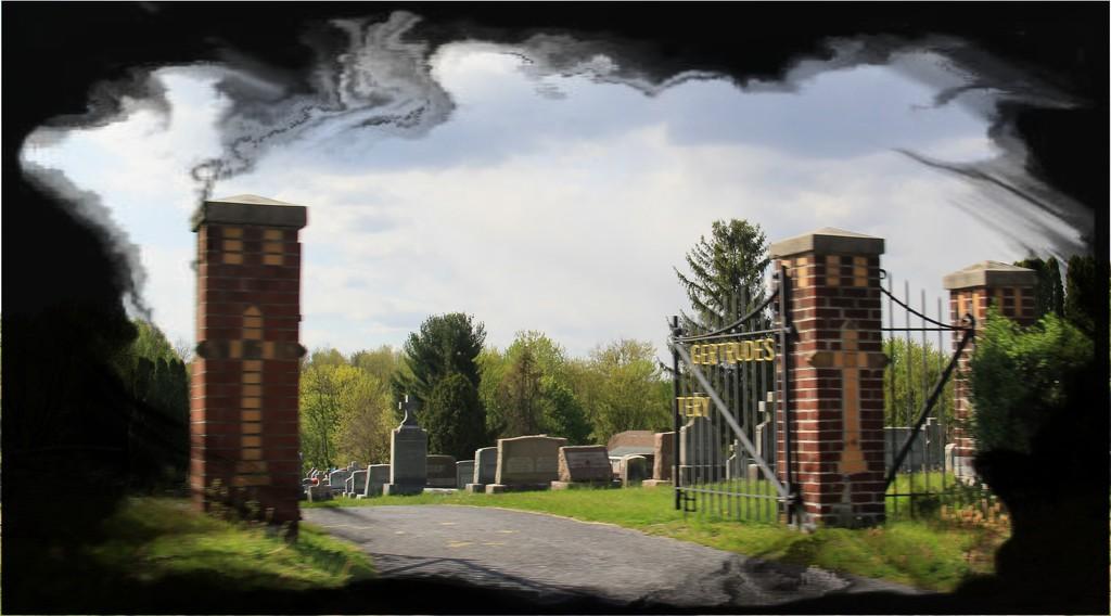 Through The Gate by digitalrn