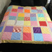 Full size quilt top