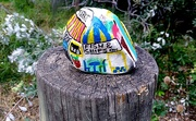 14th May 2020 - Painted stone on the post