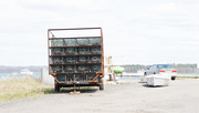 13th May 2020 - Lobster traps on Truck - Hi-key