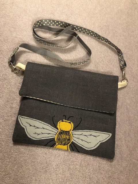 Bee bag by nicolaeastwood