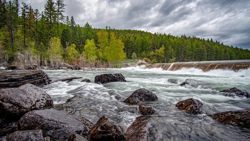 Spring Run Off In Montana by 365karly1