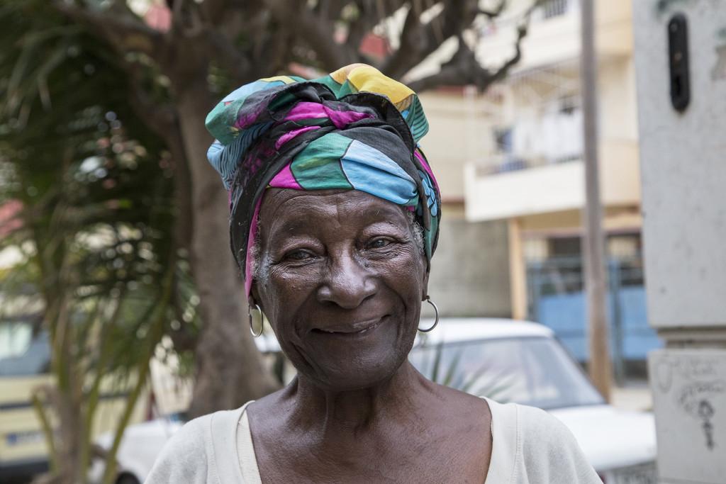 Smiling woman by mara19500