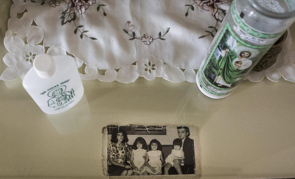 San Judas Tadeo and family by mara19500