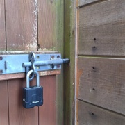 17th May 2020 - Locked Out