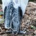 White Ibis tail feathers