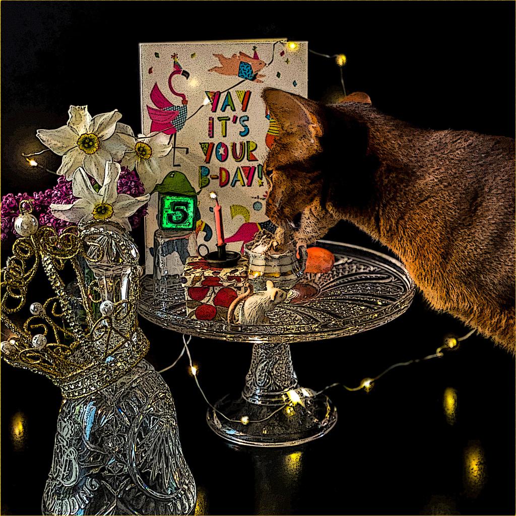 Happy Birthday dear Merry! by berelaxed