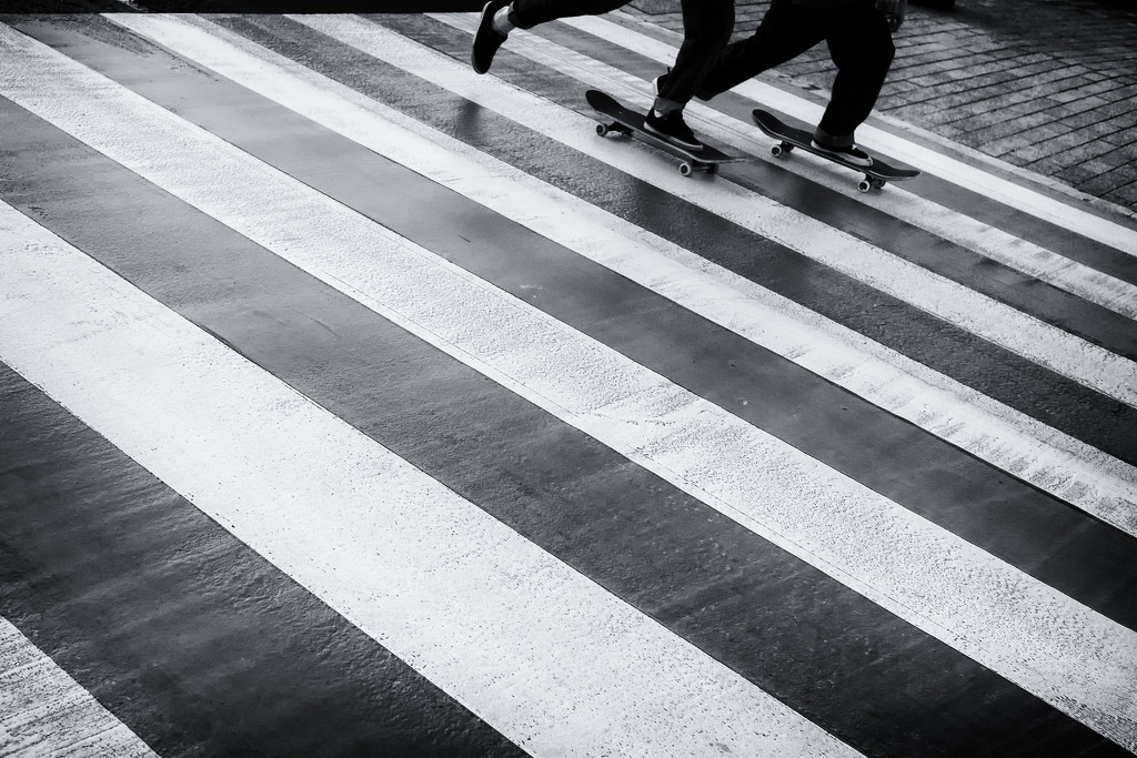 Pedestrian crossing by jborrases