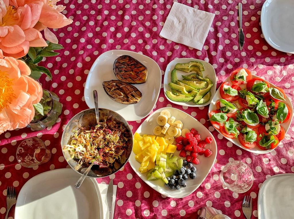 Vegetarian meal.  by cocobella