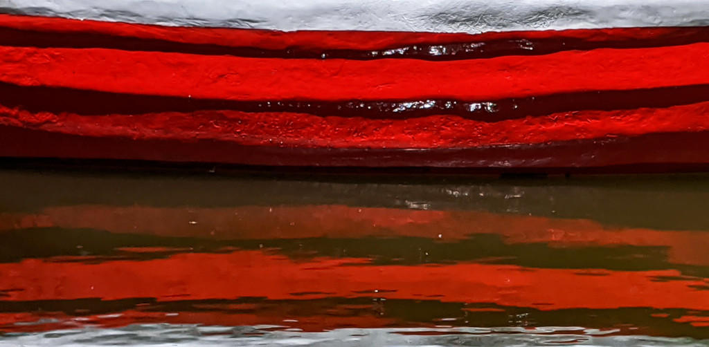 Half & Half Rowboat by fotoblah